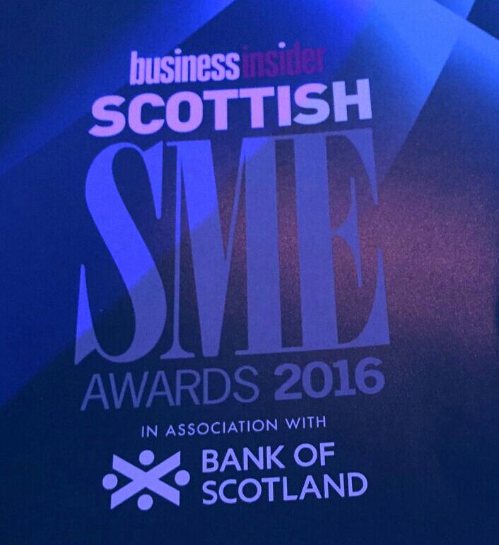 Business Insider Scottish SME Awards 2016