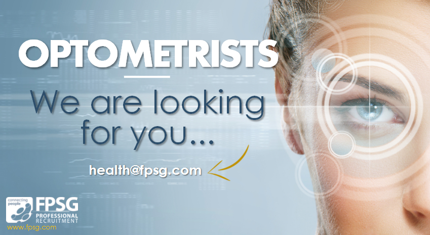 Optometrists, we are looking for you!