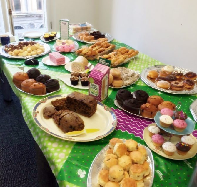 Great success with our Macmillan, World's Biggest Coffee Morning