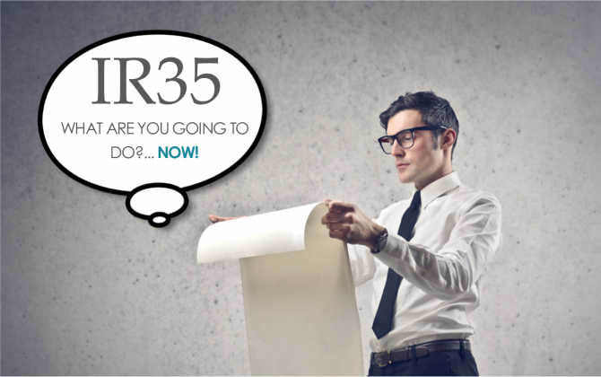 IR35 in Public Sector – What are you going to do?… Now!