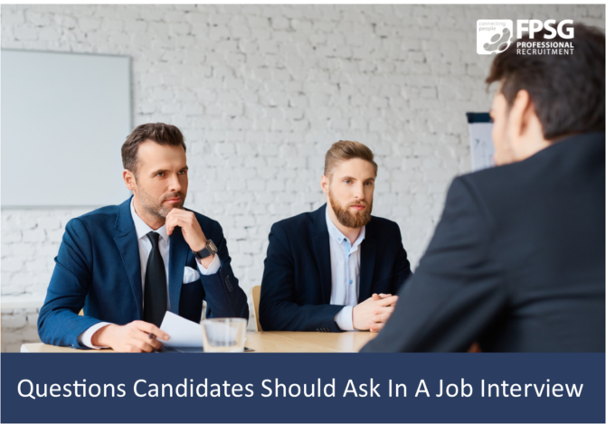 Questions Candidates Should Ask In A Job Interview.