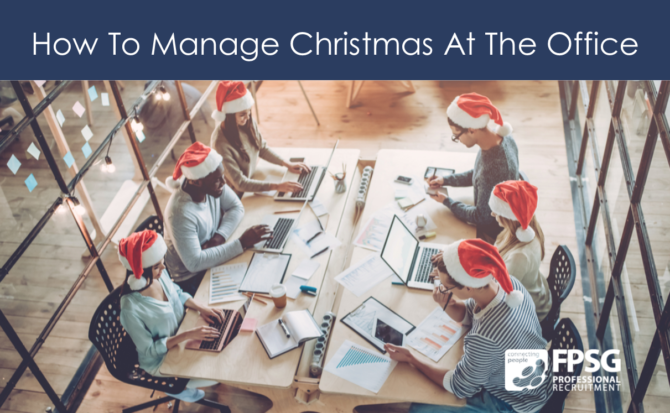 How To Manage Christmas At The Office