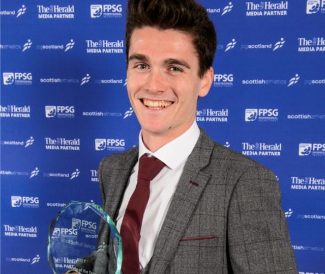 Callum Hawkins is the FPSG Athlete of the Year 2017