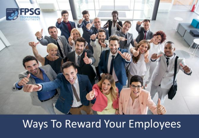 Ways To Reward Your Employees
