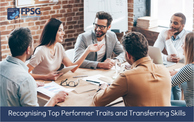 Recognising Top Performer Traits and Transferring Skills