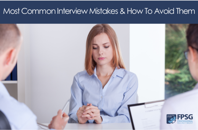 Most Common Interview Mistakes & How To Avoid Them!