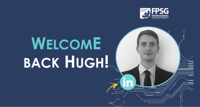 FPSG Welcome Back Managing Consultant Hugh Hardie!