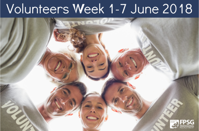 Volunteers Week 1-7 June 2018