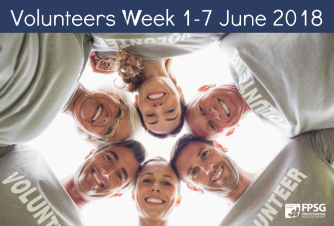Volunteers Week 1-7 June 2018