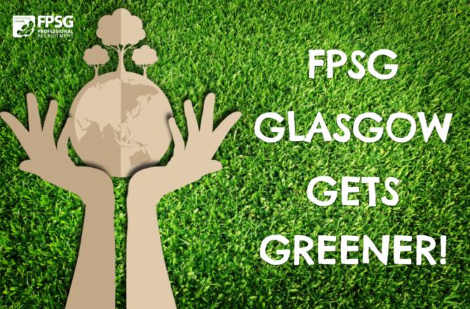 FPSG Glasgow gets greener!