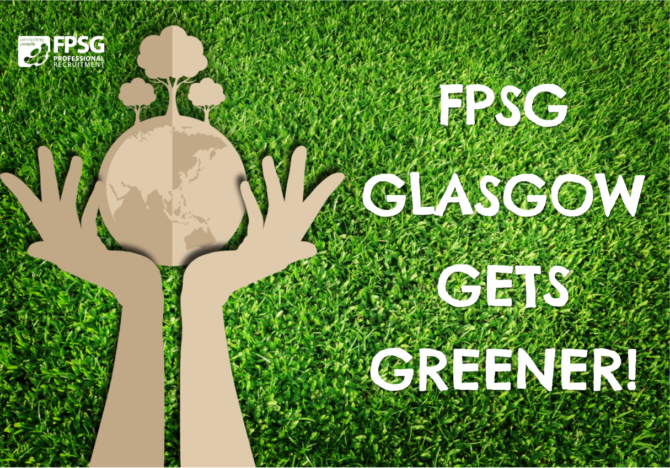 FPSG Glasgow gets greener!