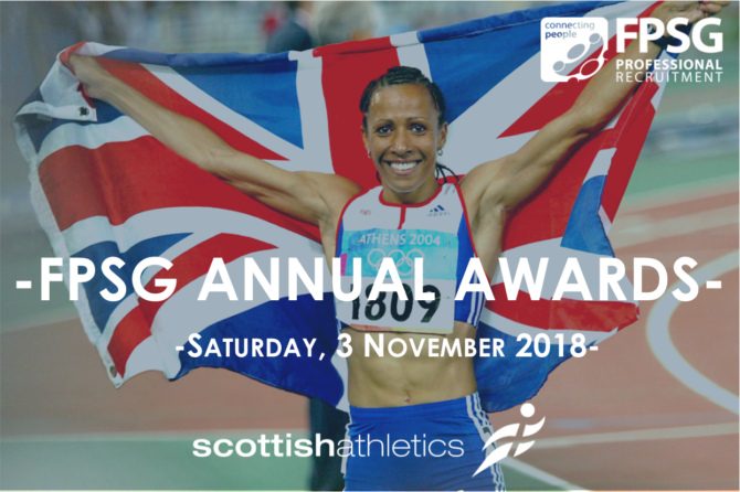 Dame Kelly Holmes will be the Guest of Honour at the scottishathletics FPSG Annual Awards Dinner!