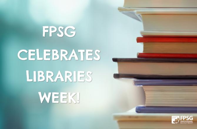 FPSG celebrates Libraries Week!