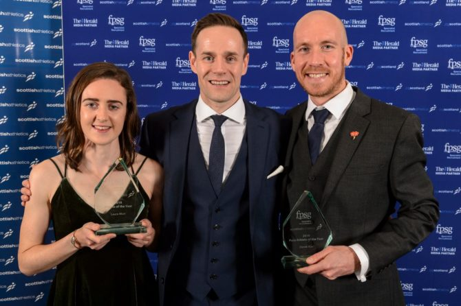 Laura Muir is the FPSG Athlete of the Year 2018