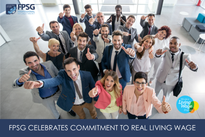 FPSG CELEBRATES COMMITMENT TO REAL LIVING WAGE