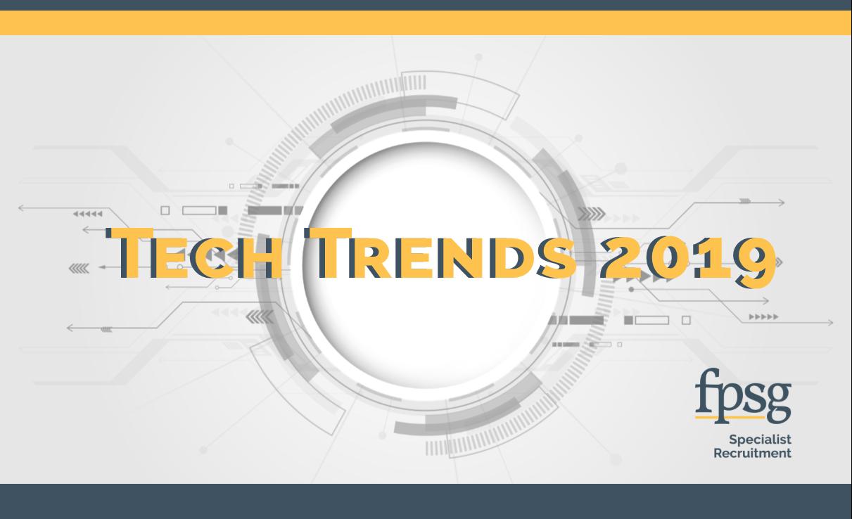technology background tech trends