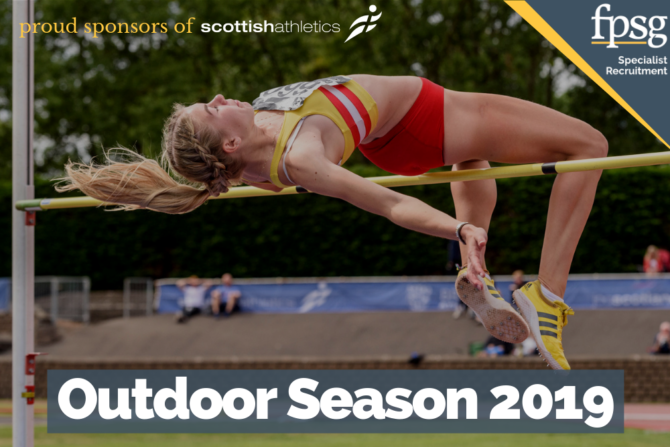 Excitement is building for the FPSG Scottish Athletics Outdoor Season 2019