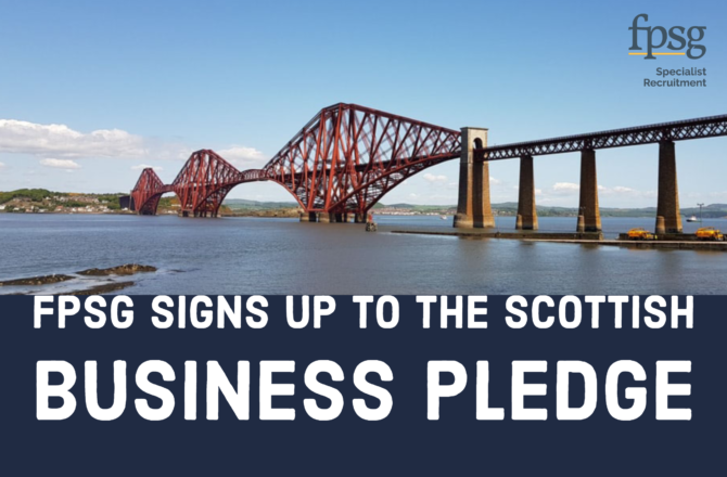 FPSG signs up to the Scottish Business Pledge