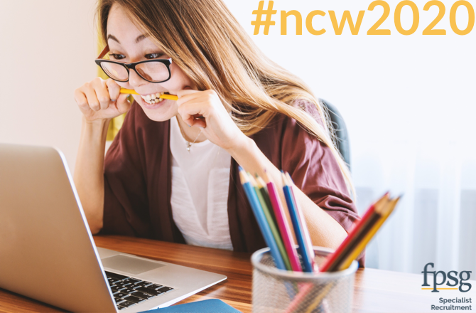 FPSG supports #NCW2020 through the Modern Apprenticeship Scheme